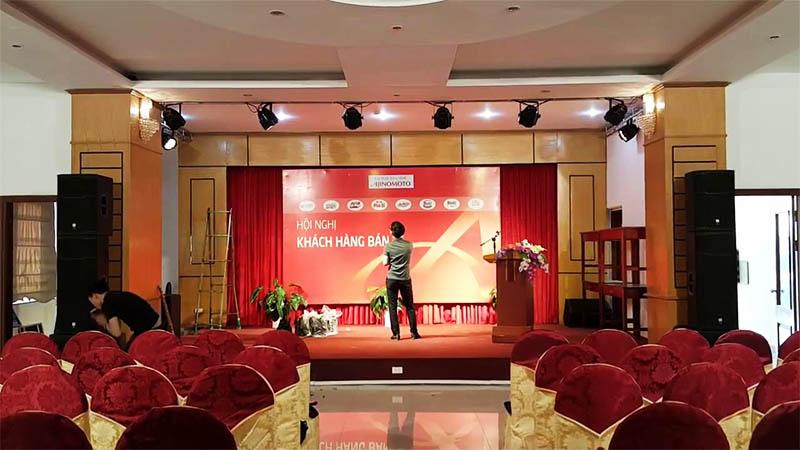 Dịch vụ cho thuê âm thanh sân khấu hội trường chuyên nghiệp 2020