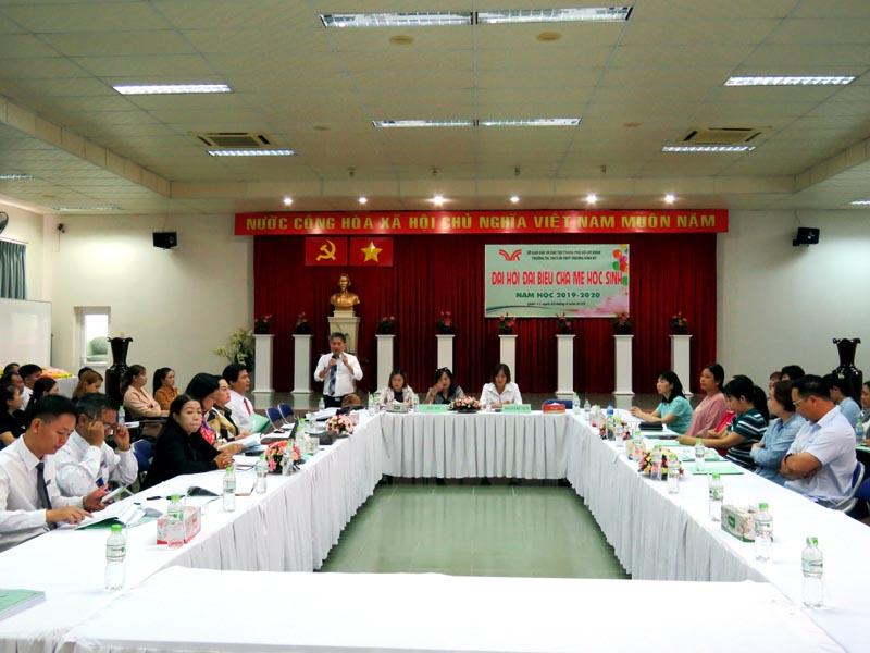 Hội nghị đại hội phụ huynh học sinh