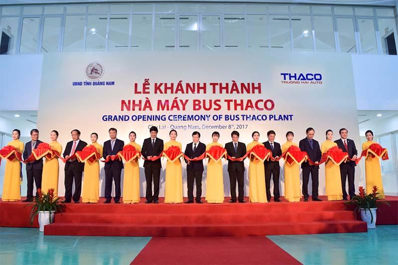 Lễ khánh thành nhà máy Bus Thaco