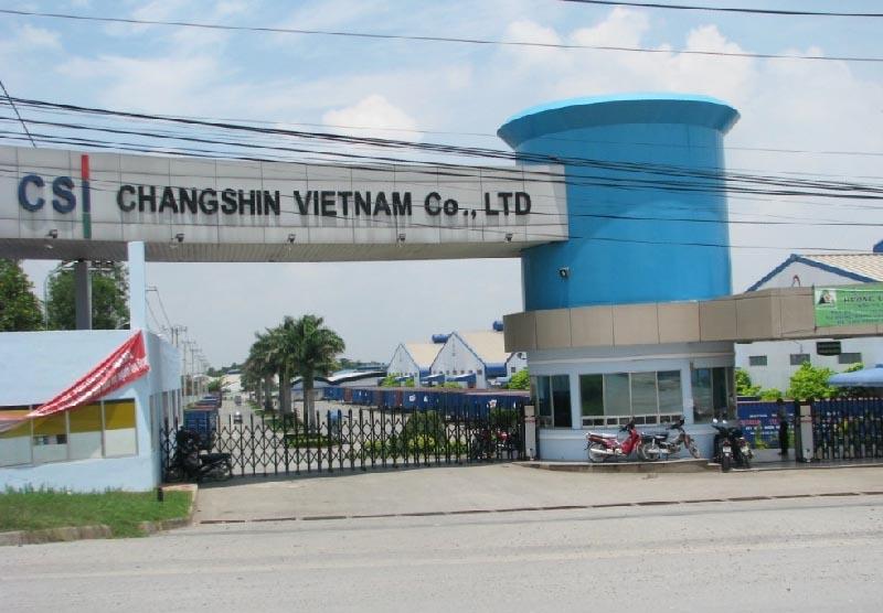 Nhà xưởng ChangShing Viet Nam