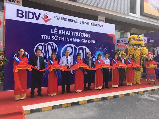 Khai trương ngân hàng BIDV Gia Định