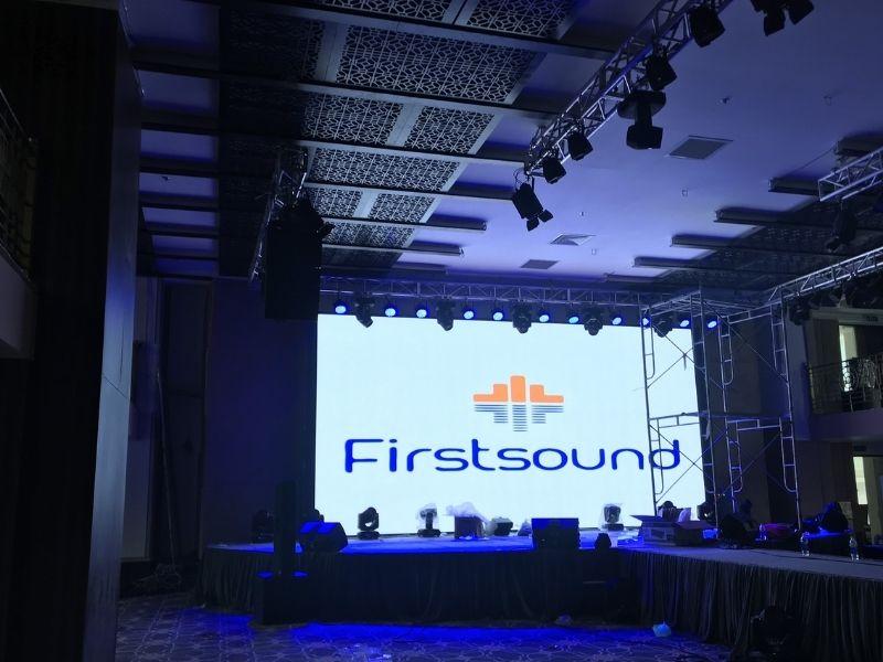 Firstsound cho thuê khung màn hình led ở 83 Lý Chính Thắng
