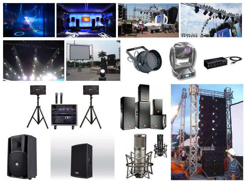 Cho thuê thiết bị âm thanh - Báo giá nhanh chóng và nhiều ưu đãi