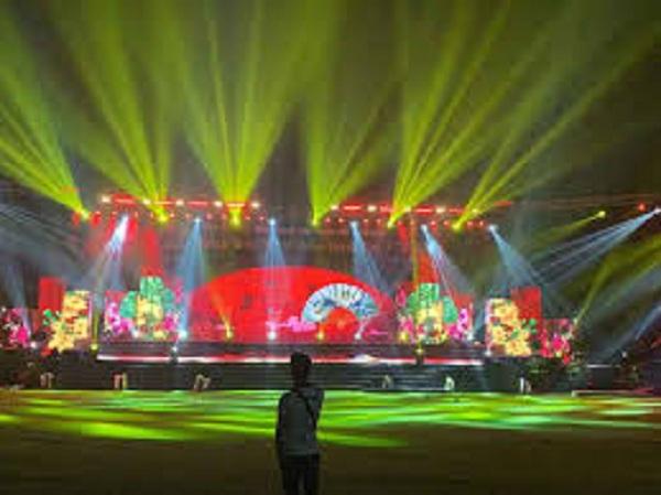 Dịch vụ cho thuê âm thanh ánh sáng của Firstsound tại đêm hội giao thừa tỉnh bình phước