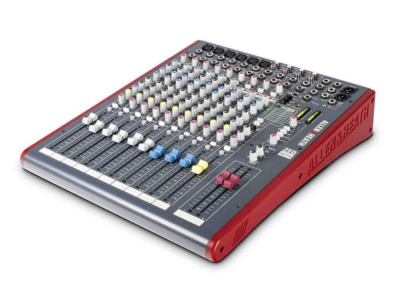 Mixer allen and heath zed 12FX