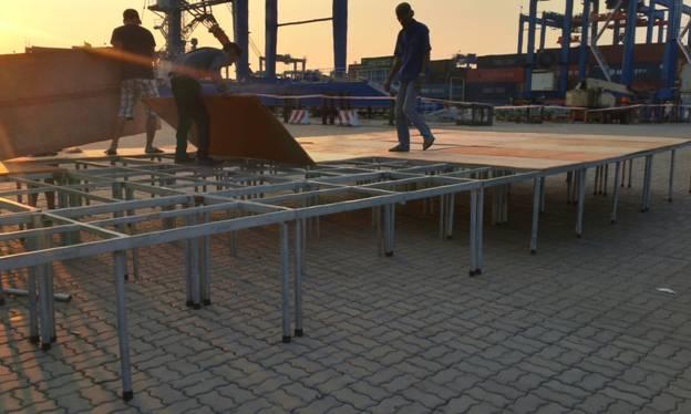 Mẫu sân khấu nghệ thuật lắp ráp nhanh HTV02