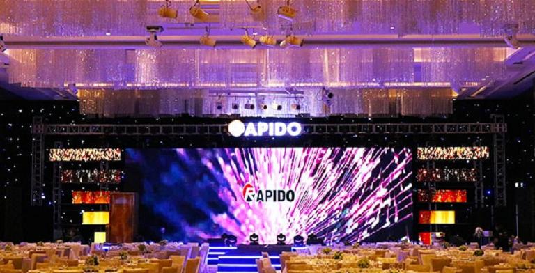 Âm thanh ánh sáng chuyên nghiệp tạo nên sự thành công của sự kiện