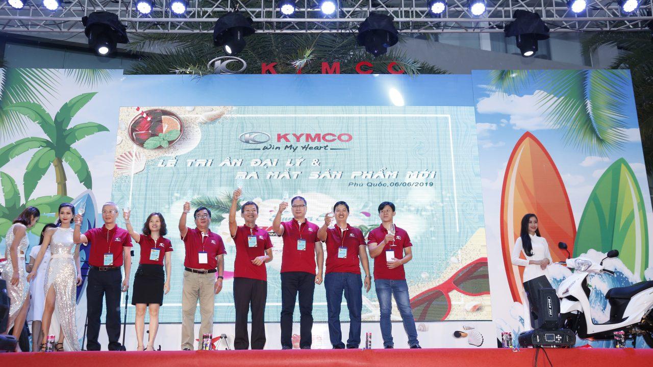 Lễ ra mắt sản phẩm chào đón dòng xe Candy Hermosa 50 KYMCO tại Phú Quốc