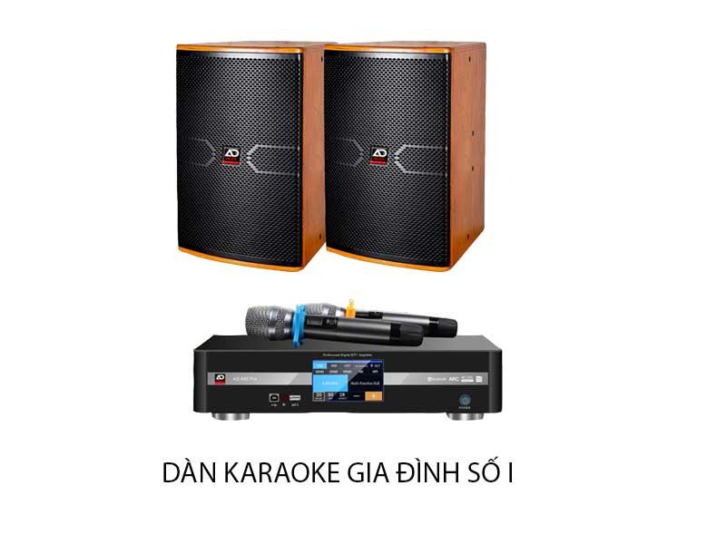 Dàn karaoke gia đình số 1