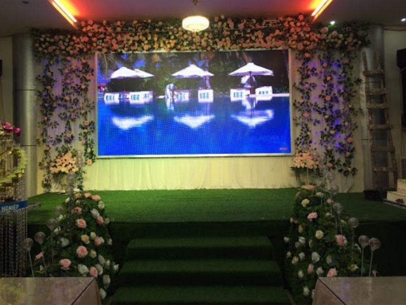 Gía màn hình led đám cưới phụ thuộc vào rất nhiều yếu tố