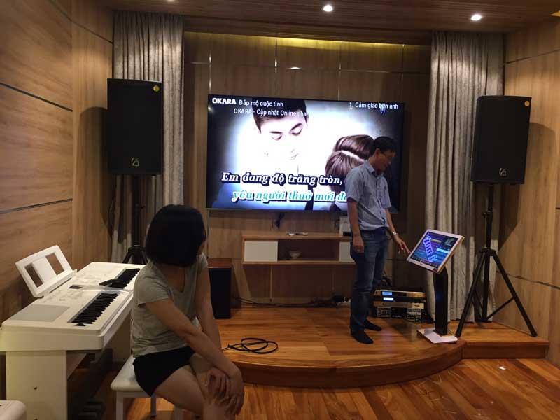 Dàn karaoke gia đình -2