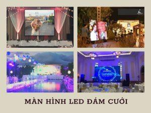 Màn hình led đám cưới giá bao nhiêu? Loại nào được ưa chuộng nhất?