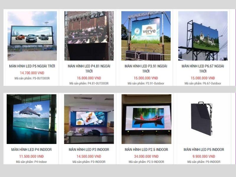 Giá bán màn hình led sân khấu đám cưới chuyên nghiệp