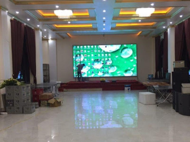 Thi công và lắp đặt màn hình led trung tâm hội nghị