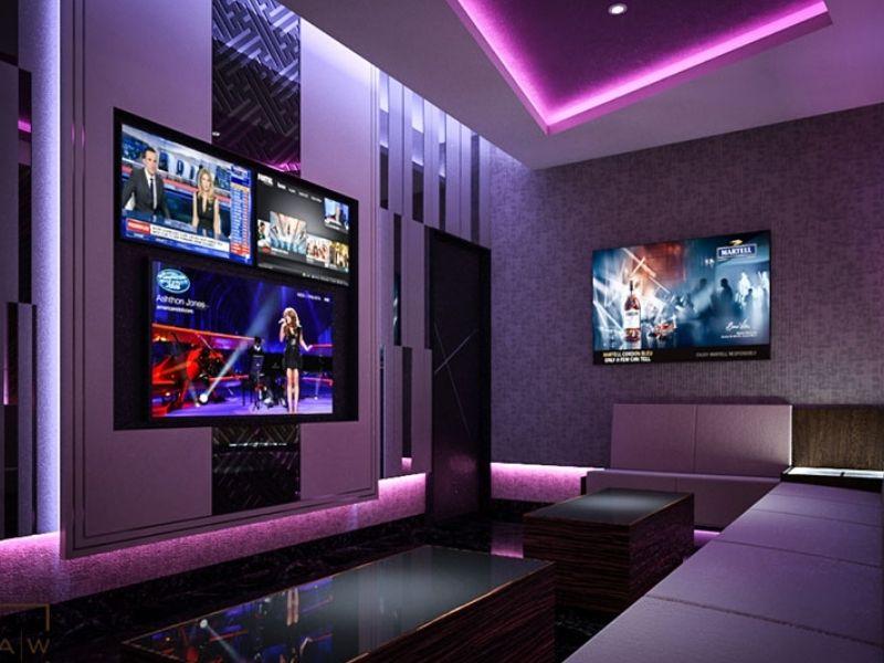 Thiết kế phòng nghe nhạc đúng nguyên tắc sẽ giảm được tiếng ồn và tạp âm