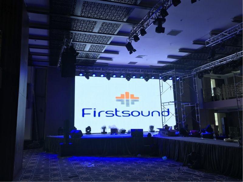 Màn hình led của Firstsound tại 83 Lý Chính Thắng
