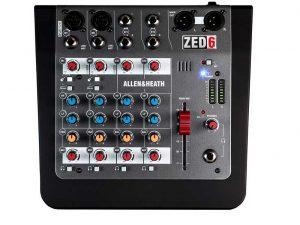 Mixer số giá rẻ AlIen and Heath ZED6/X