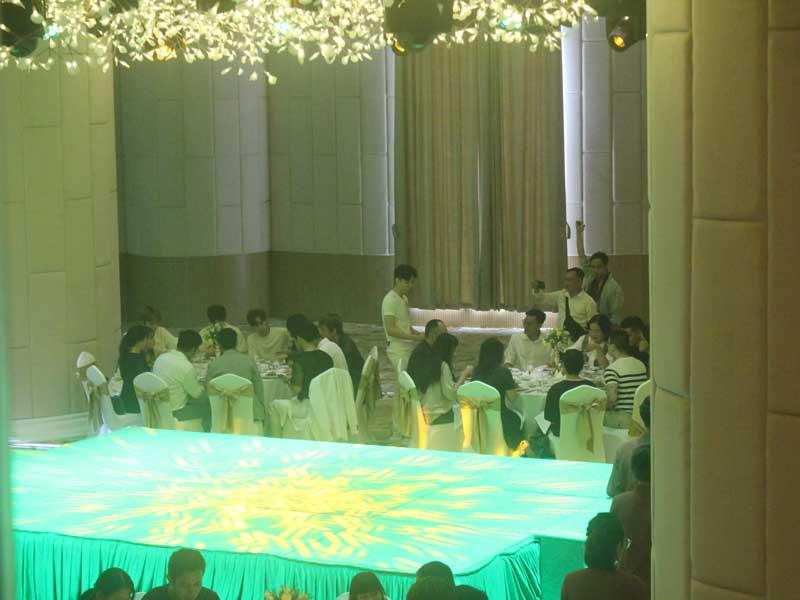Cho thuê âm thanh ánh sáng của Firstsound tại ra mắt MV Ngô Kiến Huy-3