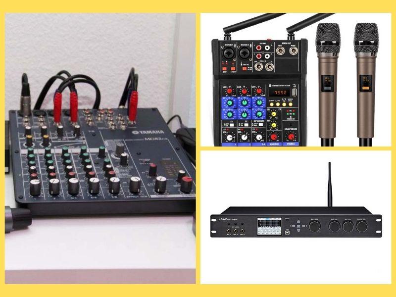 Chia Sẻ Cách Chọn Mixer Karaoke Gia Đình Chuẩn Nhất 2021