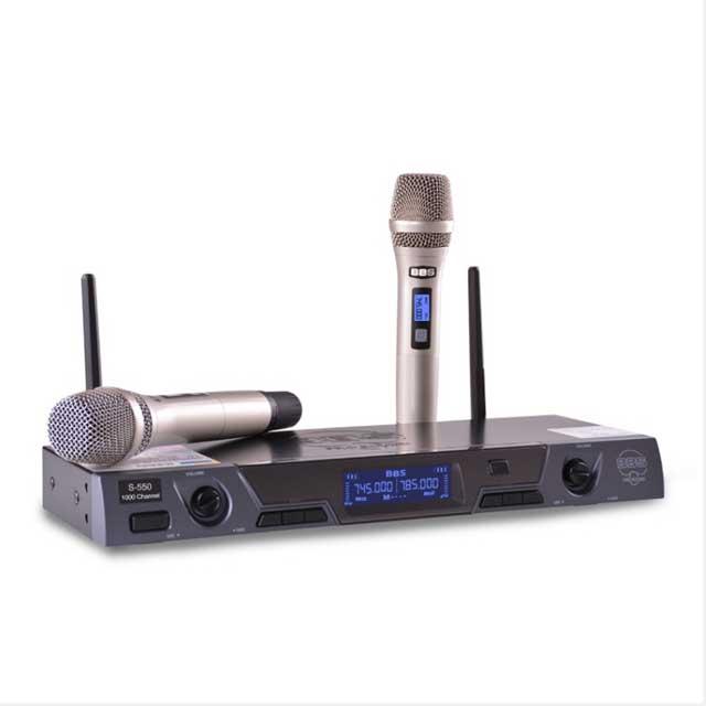 Micro không dây BBS-550