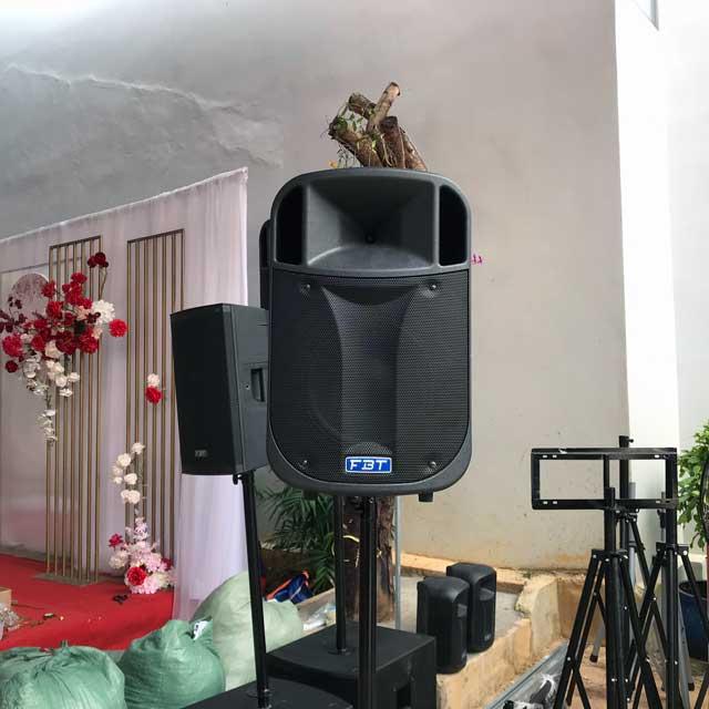 Cho thuê âm thanh ánh sáng cho tiệc 50-100 khách