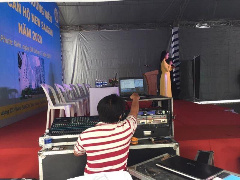 Cho thuê thiết bị sự kiện bao gồm cả sân khấu