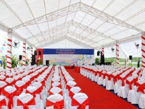 Chuyên cho thuê phông bạt tổ chức sự kiện theo yêu cầu, giá cạnh tranh