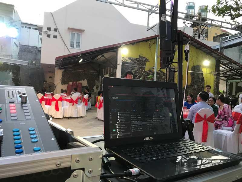 Kỹ thuật viên của Firstsound tại tiệc cưới-4
