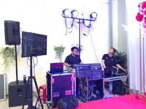Kỹ thuật viên của Firstsound tại tiệc cưới-3