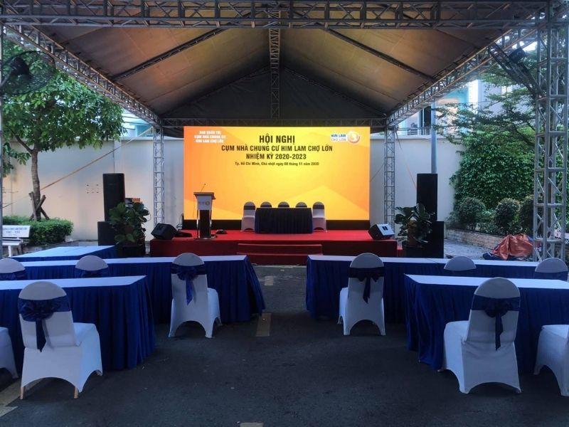 Thuê sân khấu hội nghị