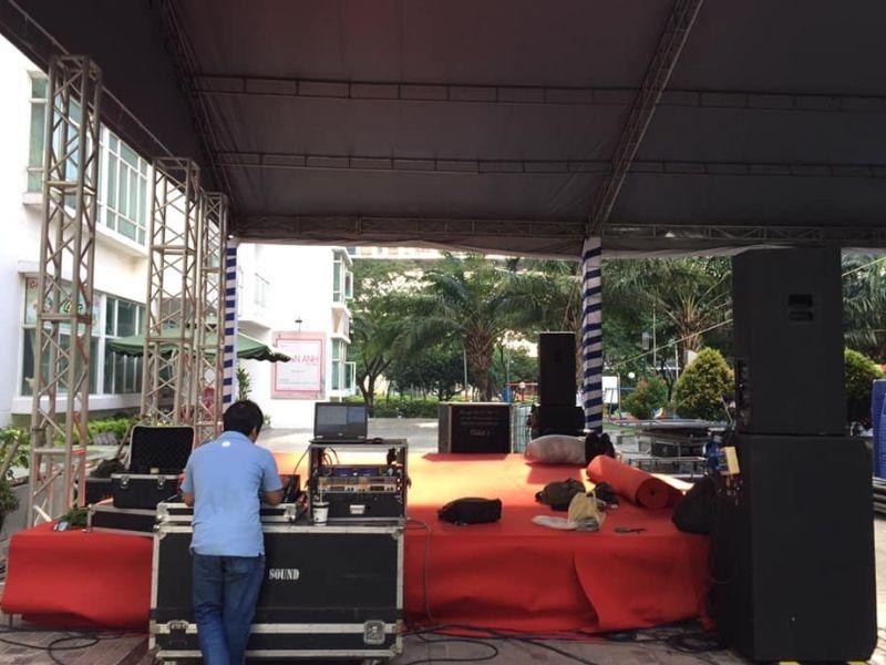 Tổ chức sân khấu tại New SaiGon