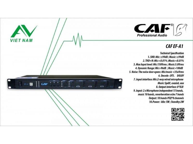 Vang số karaoke CAF EF-A1