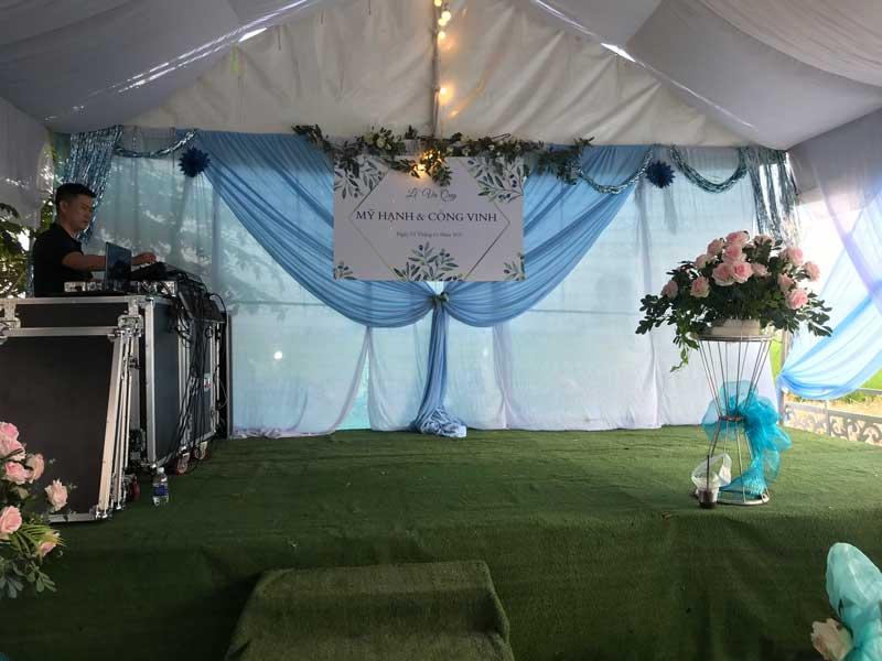 Cho thuê âm thanh ánh sáng đám cưới
