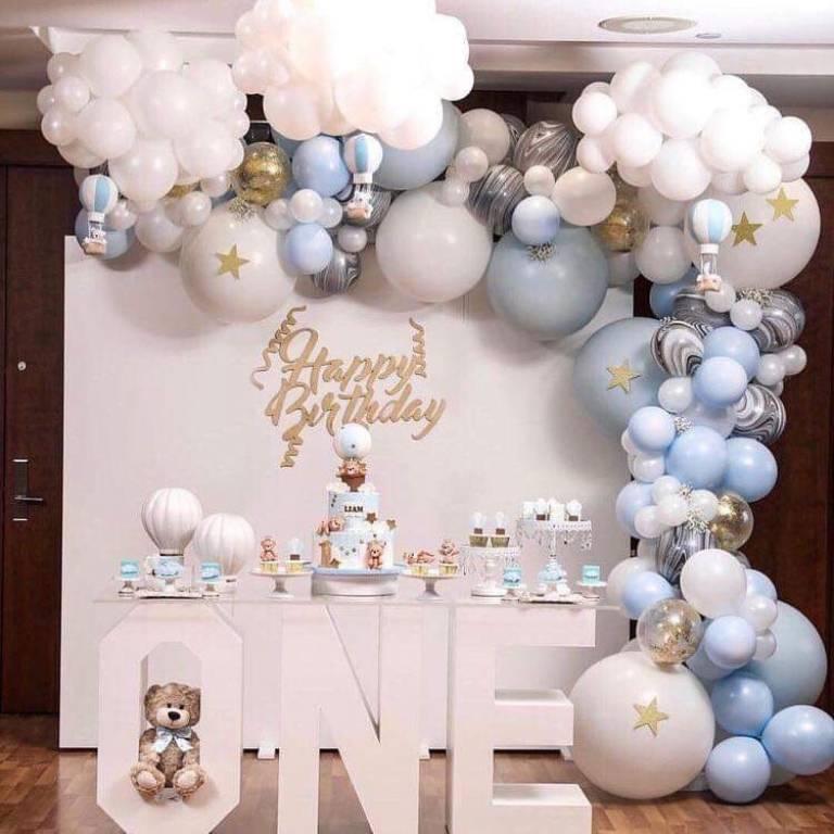 Cách trang trí tiệc sinh nhật