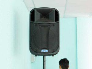 Cho thuê âm thanh tiệc gặp mặt trường phòng cháy chữa cháy HCM-9