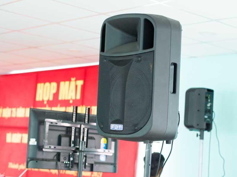 Cho thuê âm thanh tiệc gặp mặt trường phòng cháy chữa cháy HCM-1