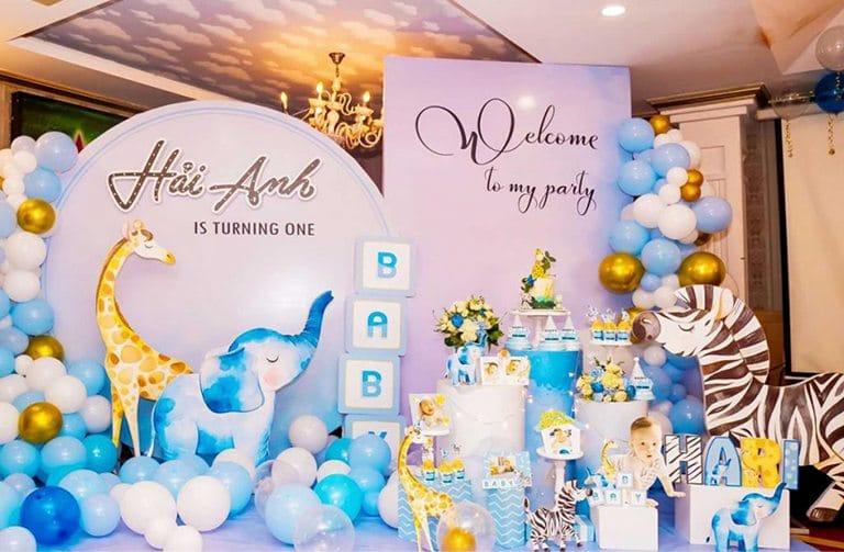 Vì sao nên chọn lựa dịch vụ trang trí tiệc sinh nhật chuyên nghiệp?