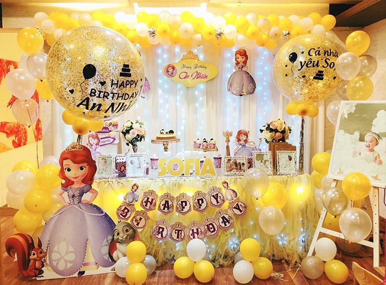 Báo giá trang trí sinh nhật từ nhà Firstsound tại khu vực TPHCM