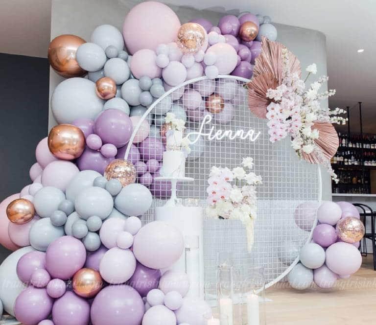 Mẫu Backdrop trang trí tiệc sinh nhật