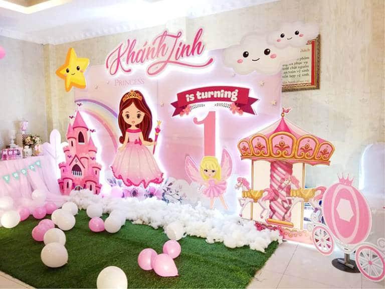 Mẫu trang trí tiệc sinh nhật