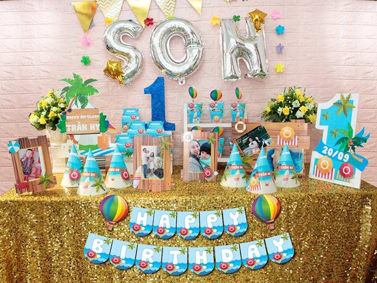 Vì sao cần phải có bàn tiệc sinh nhật (bàn gallery sinh nhật)?