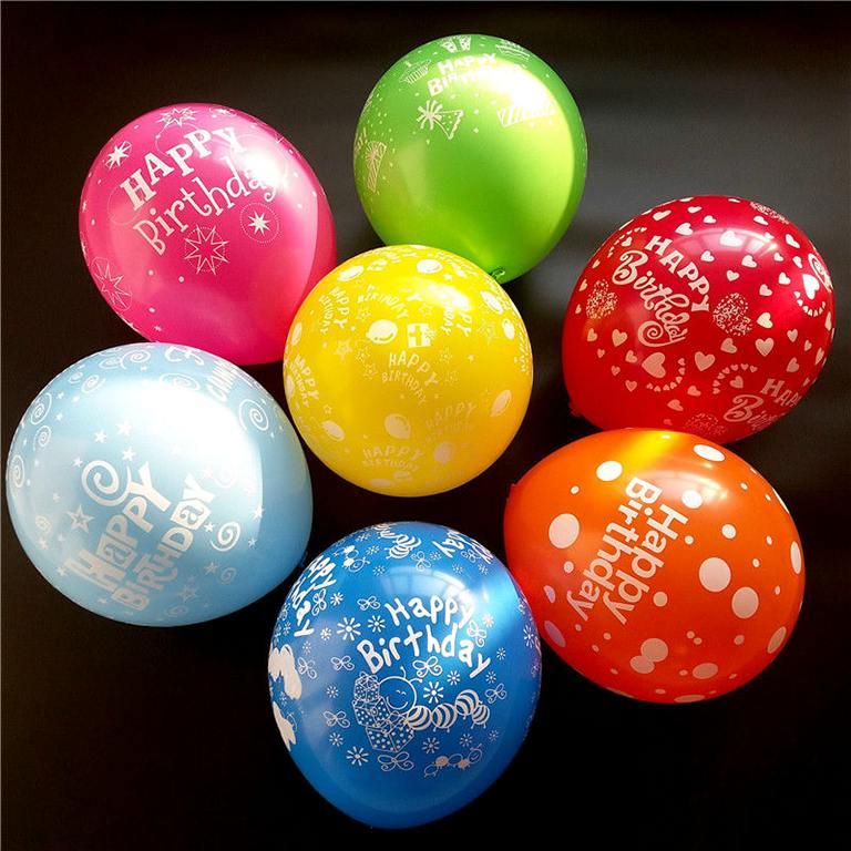 Bong bóng trang trí tiệc sinh nhật có mấy loại?