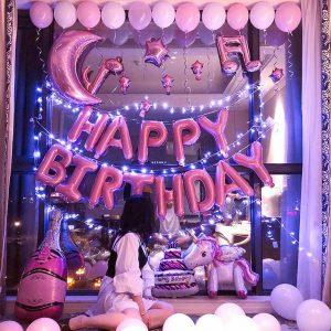 Trang trí phòng sinh nhật đẹp hcm