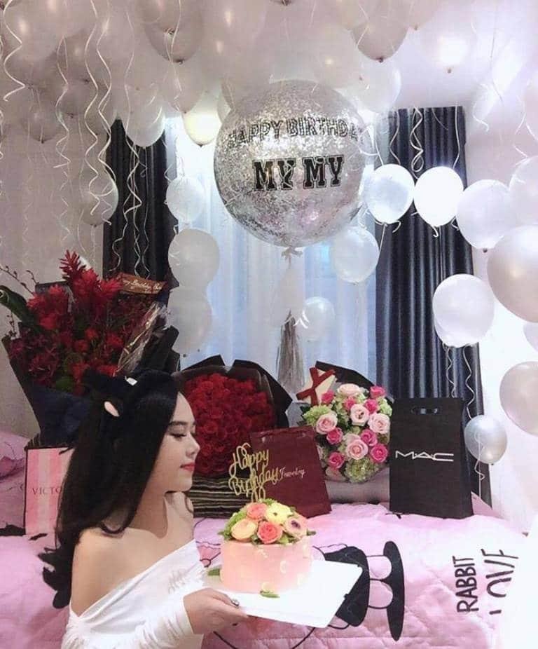 Trang trí tiệc sinh nhật cho người yêu