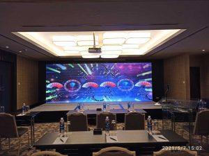 Dịch vụ cho thuê màn hình led của Firstsound tại khách sạn Sheraton