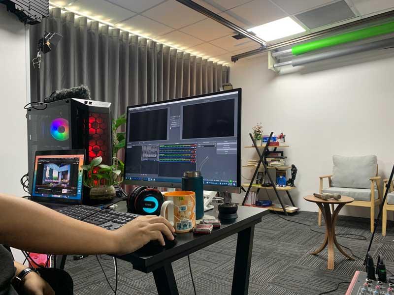 Cho thuê thiết bị livestream của Firstsound